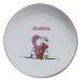 Assiette à bouillie en porcelaine personnalisée