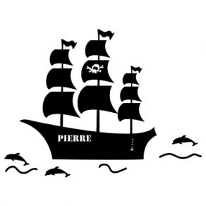 Stickers enfant pirate