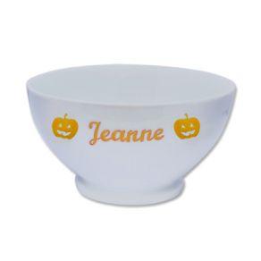 Bol en porcelaine d'Halloween