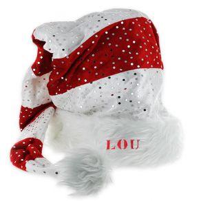 Bonnet de Noël à paillettes