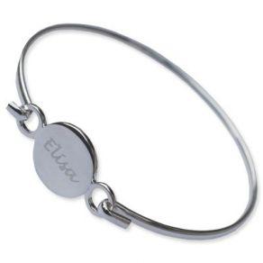 Bracelet personnalisé jonc rond