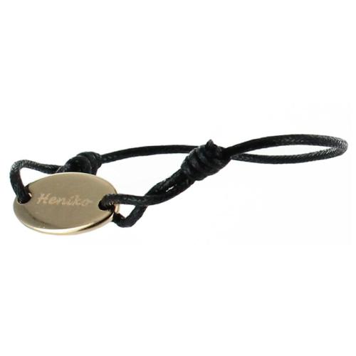 Bracelet ovale personnalisé