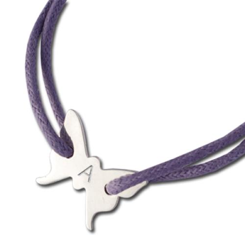 Bracelet papillon personnalisé