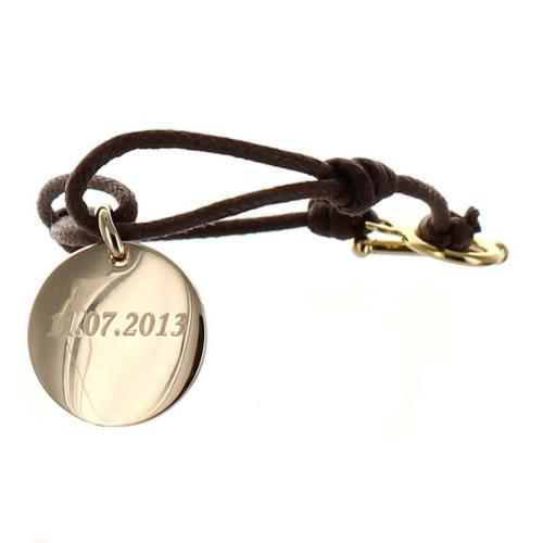 Bracelet rond gravé