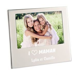 Cadre photo I love Maman
