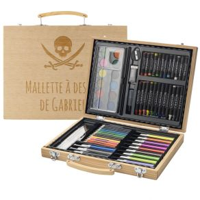 Mallette dessin 67 crayons