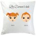 Coussin Famille Heureuse