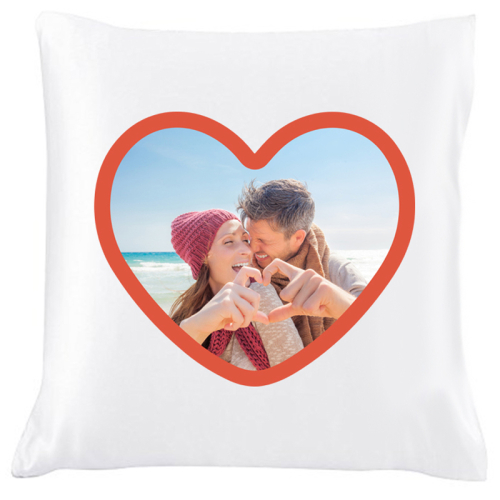 Coussin photo Love