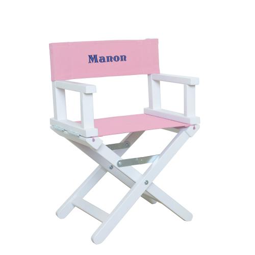 fauteuil baby blanc et rose