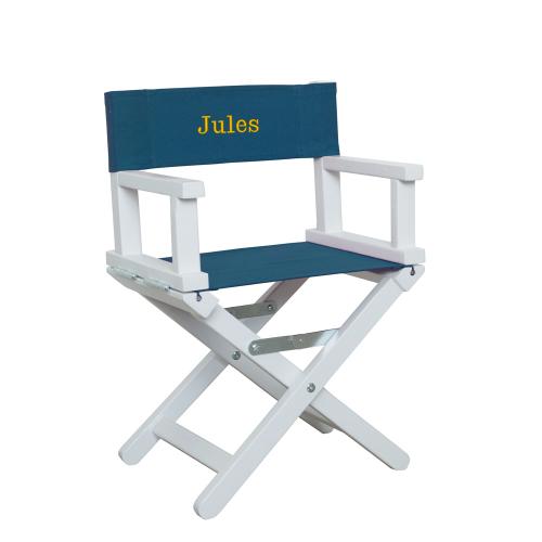 fauteuil baby blanc et bleu