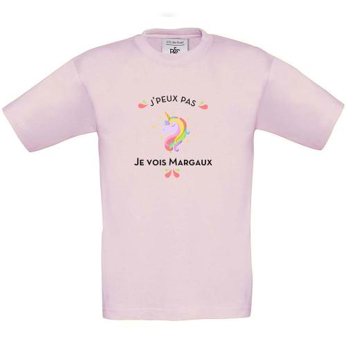 Jpeux Licorne T-shirt enfant