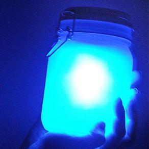 Lampe design Jar