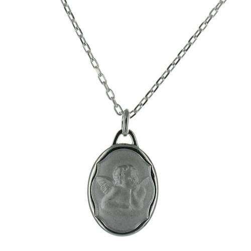 Médaille ange Raphaël gravée
