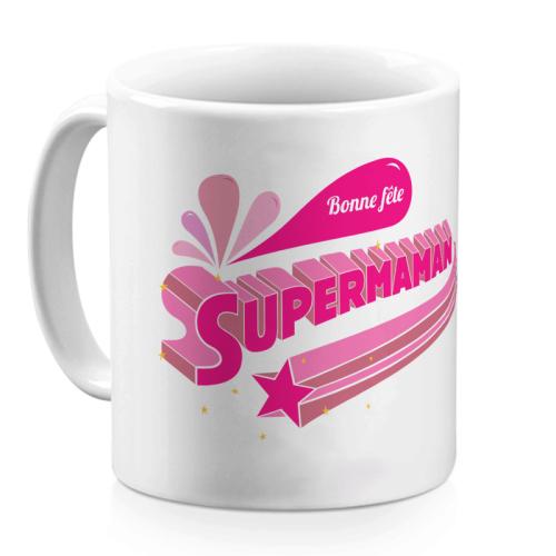Mug Supermaman personnalisable