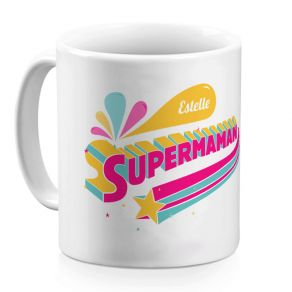 Mug Supermaman personnalisable