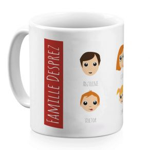 Mug Famille Heureuse
