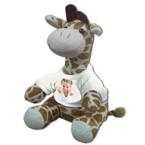 Peluche photo Girafe