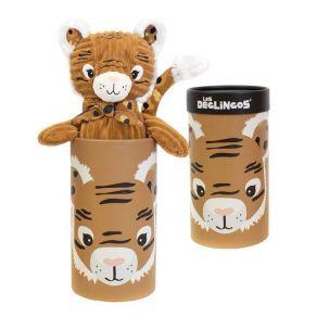 Peluche grand tigre Déglingos