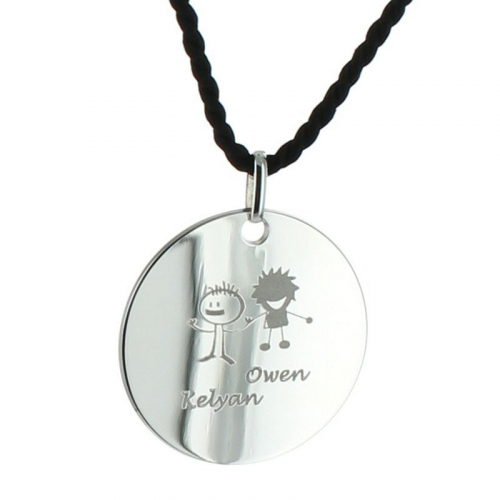 Bijoux personnalisés pendentif alban