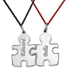 Pendentif pièces de puzzle