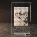Photo gravée sur verre 15 x 9 cm