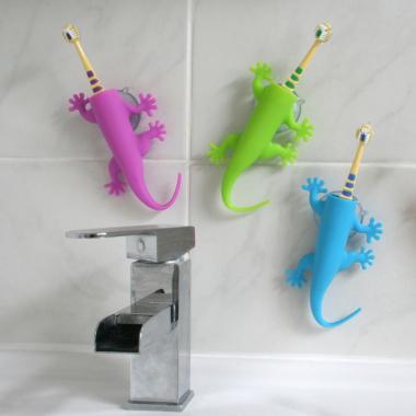 Support brosse à dents Lézard