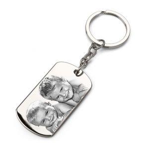 Porte-clés plaque personnalisé