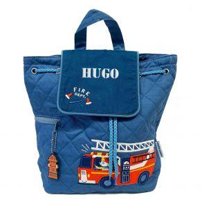 Sac à dos enfant Pompier personnalisé