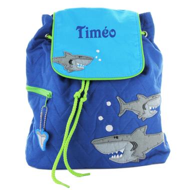 Sac à dos enfant Requin personnalisé