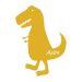 Stickers enfant dino le T-Rex