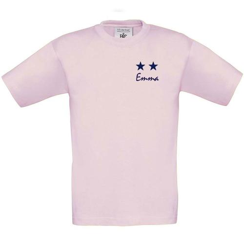 T-shirt enfant 2 étoiles imprimé