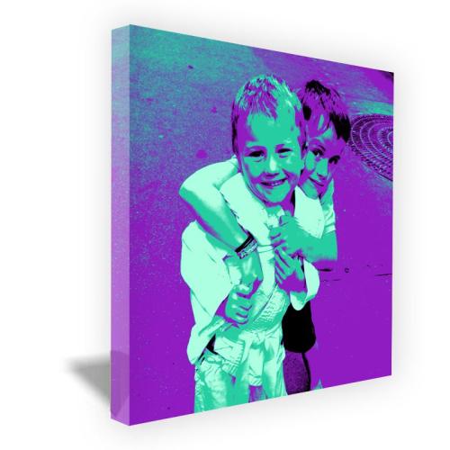 Toile Pop Photo carrée