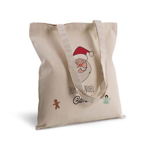 Tote bag personnalisé pour Noël