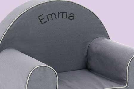 id es cadeaux naissance fauteuils personnalis s. Black Bedroom Furniture Sets. Home Design Ideas