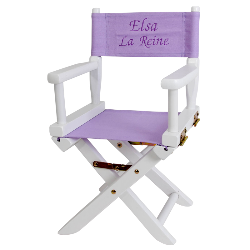 Joli cadeau id e cadeau naissance fauteuil de metteur en sc ne personnalis - Idee cadeau cocooning ...