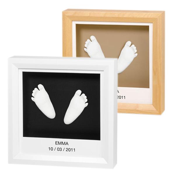 joli cadeau id e cadeau naissance cadre empreintes. Black Bedroom Furniture Sets. Home Design Ideas