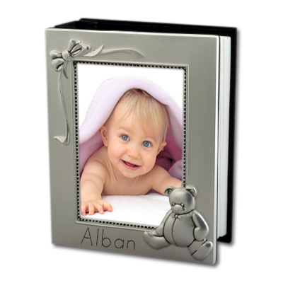 joli cadeau id e cadeau naissance cadre ours album photo. Black Bedroom Furniture Sets. Home Design Ideas