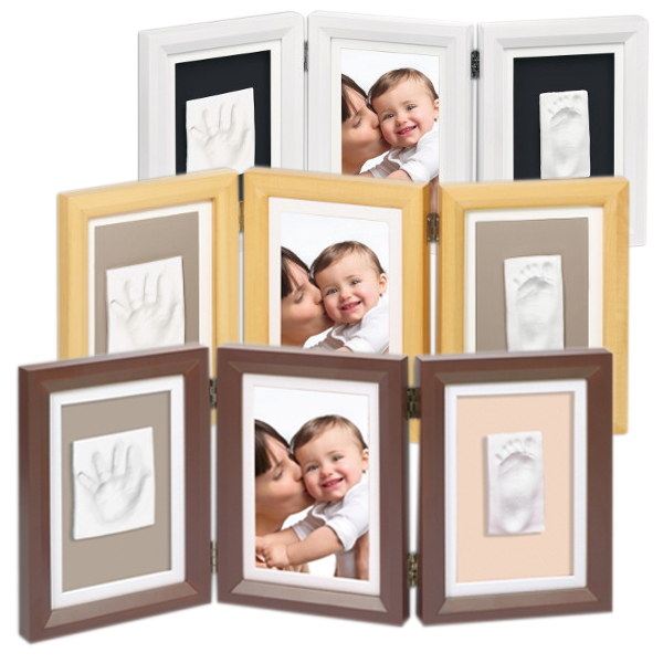 joli cadeau id 233 e cadeau naissance cadre deux empreintes baby