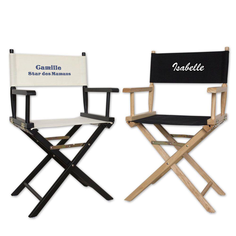 joli cadeau id e cadeau naissance fauteuil de metteur en sc ne personnalis. Black Bedroom Furniture Sets. Home Design Ideas