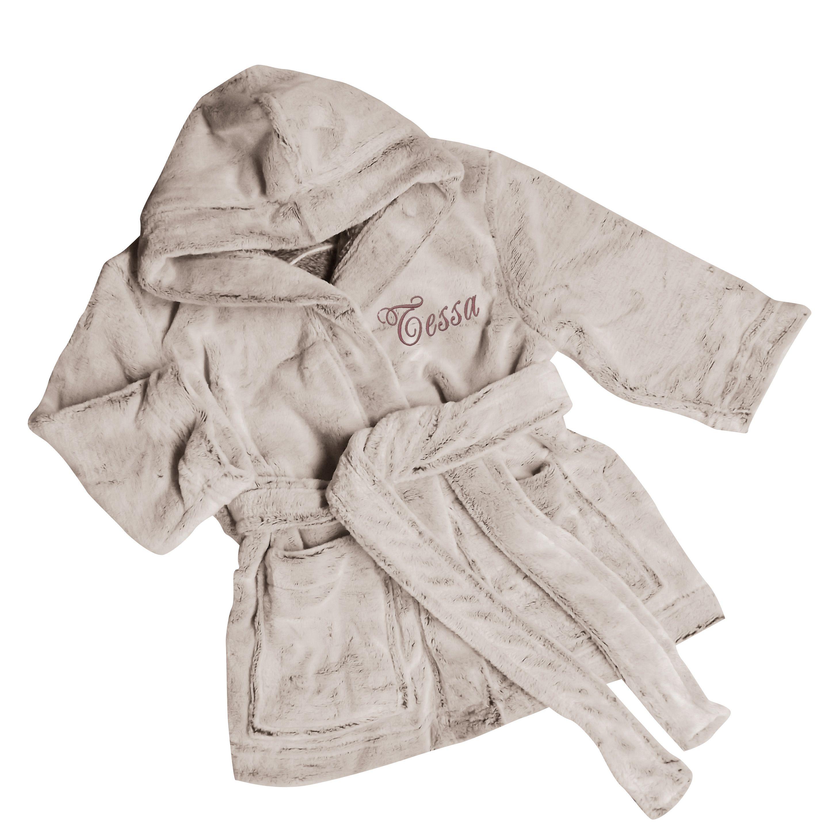 Joli Cadeau idée cadeau naissance Robe de chambre polaire