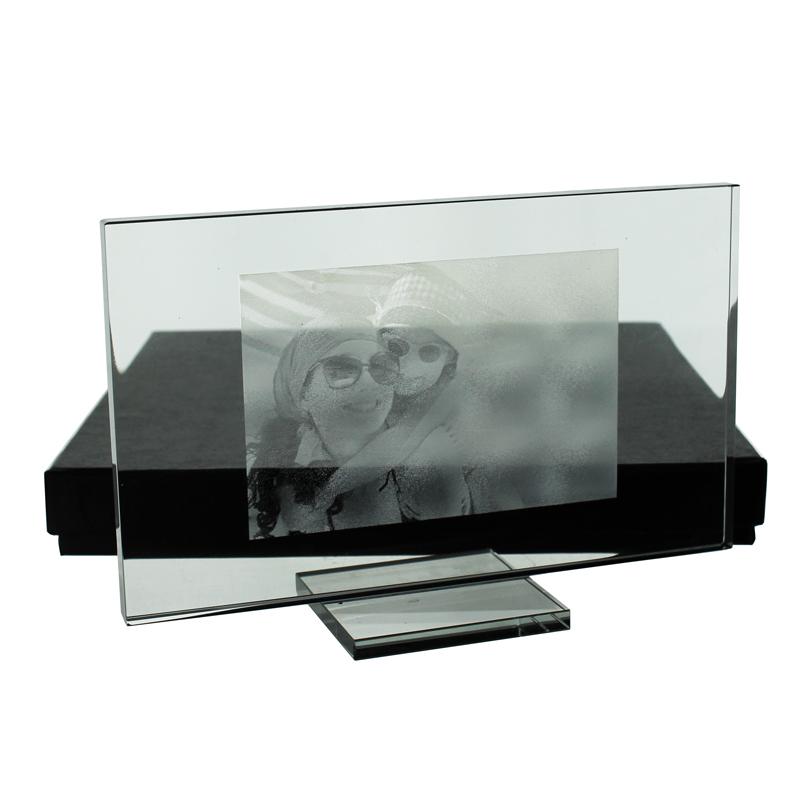 joli cadeau id e cadeau naissance photo grav e sur verre 15 x 9 cm. Black Bedroom Furniture Sets. Home Design Ideas