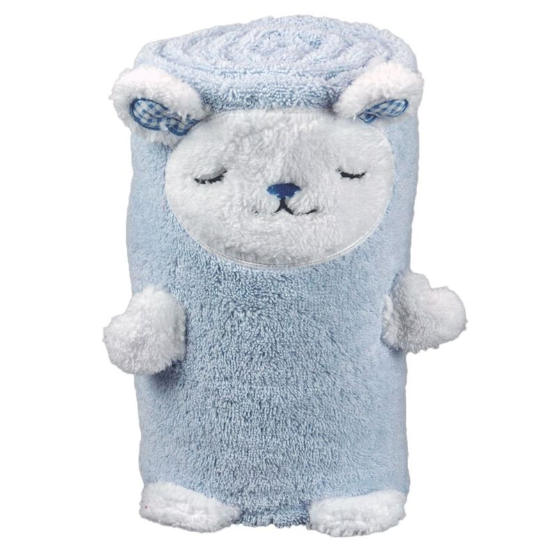 joli cadeau id e cadeau naissance serviette mouton personnalis e. Black Bedroom Furniture Sets. Home Design Ideas