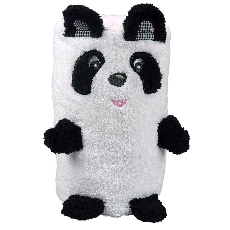 joli cadeau id e cadeau naissance serviette panda personnalis e. Black Bedroom Furniture Sets. Home Design Ideas